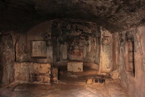 Paphos: catacombe di Salomone