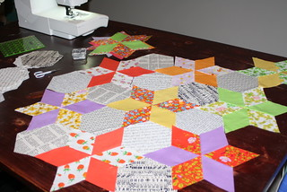 Star Flower Quilt A Long