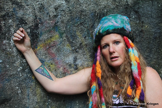 Shannon Kringen Wool Felted Hat and Tattoo