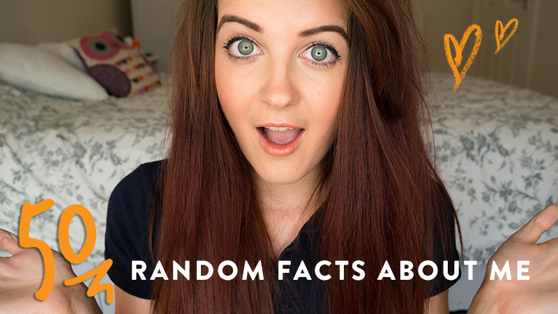50 Random Facts About Me | www.latenightnonsense.com
