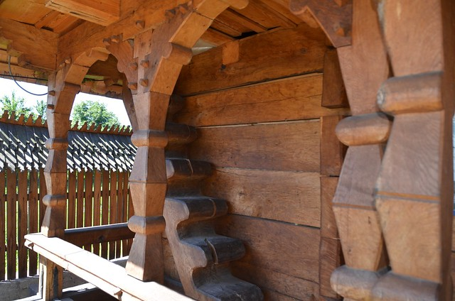 Wooden House At Merry Cemetery In Sapanta Village Maramures 6 Flickr Photo Sharing