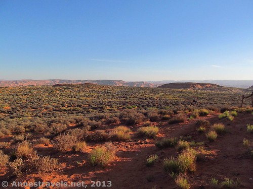 Leaving the Jacob Hamblin Arch Parking Area for Coyote Gulch, Grand Staircase-Escalante National Monument, Utah