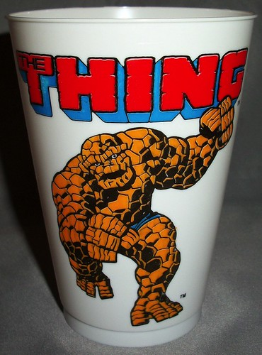 The Thing 2 Slurpee Cup by John Buscema from FF 116