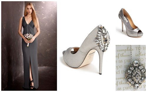 {Gray + Glamourous} Bridesmaid's Style by Nina Renee Designs