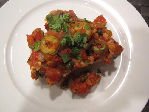Fish veracruz idiot 39 s kitchen for Fish veracruz recipe
