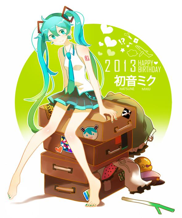 Miku Monday #187 (CLXXXVII) - Hatsune Miku, 6º Aniversario (II)