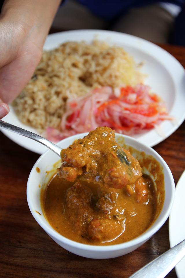 Zanzibari octopus curry