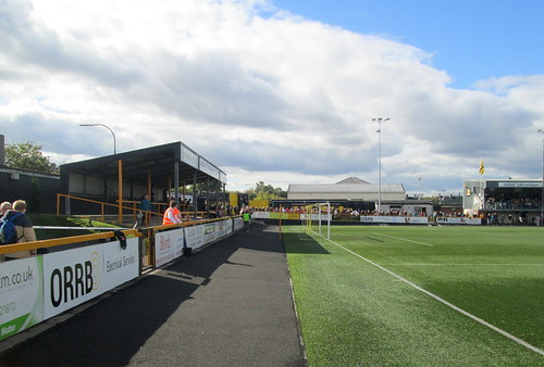 Recreation  Park, Alloa, Home Terracing