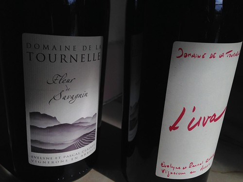 Wines I brought back from Jura