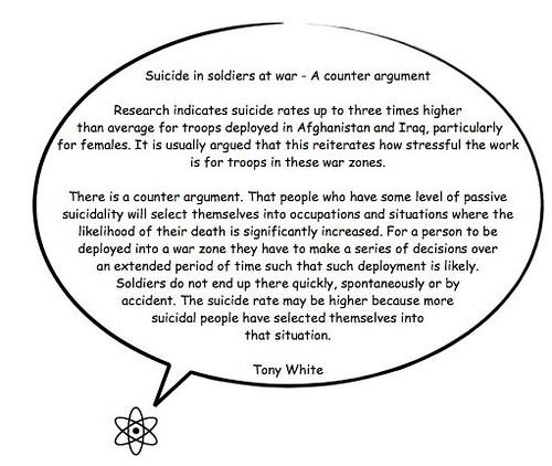 Suicide & war