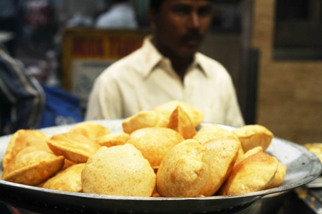 City Food – Halwa-Subzi-Poori, Haji Tea Point