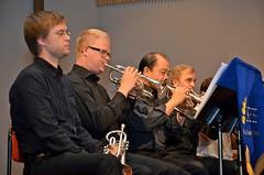 Brassbandfestivalen 2012 - Bakre kornettraden i Windcorp Brass Band