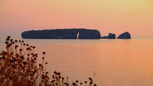 The Rock of Tsichli-Baba, Pylos, Greece