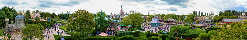 Disneyland Paris Fantasyland Panorama