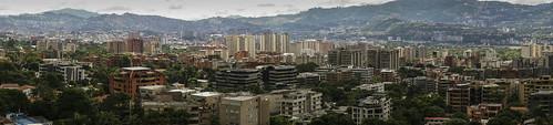 city panorama landscape venezuela sony ciudad paisaje caracas f3 week45 nex cotamil avboyacá avenidaboyacá sweeppanorama sonynexf3 52of2013