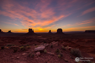 Monument Valley Glow
