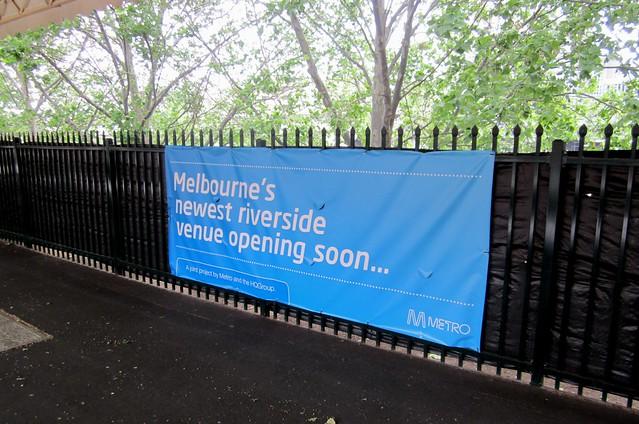 Coming soon at Flinders Street platform 11