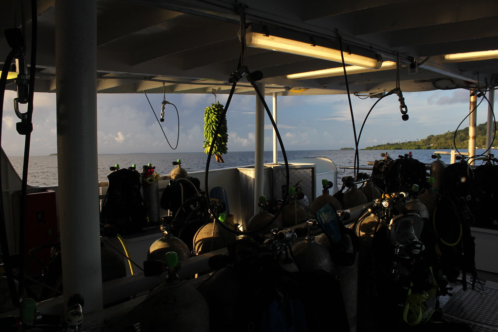 Dive deck on the Odyssey