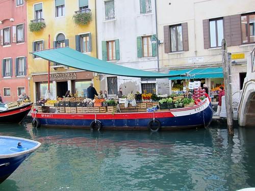San Barnaba barge