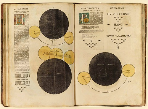 008-Astronomicum Caesareum-1540- Petrus Apianus -Staatsblibliothek Bamberg