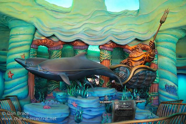Swimming thru Mermaid Lagoon