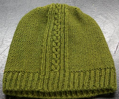 Vanessa L's knit hat