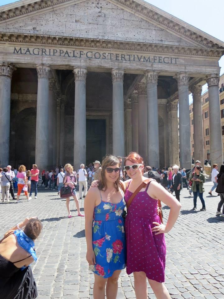 rome sheena me pantheon