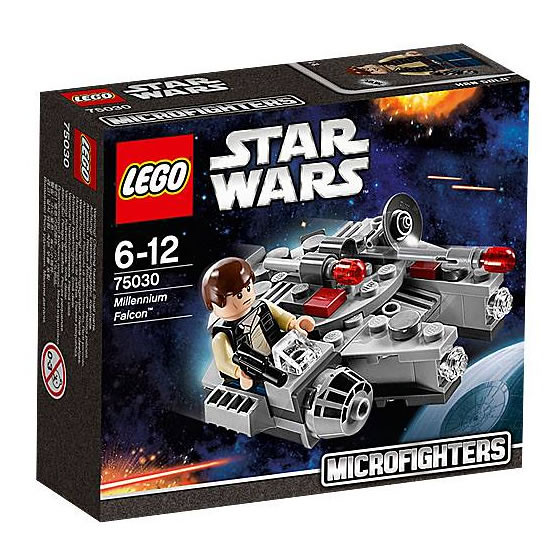 LEGO Star Wars MicroFighters 75030 - Millennium Falcon