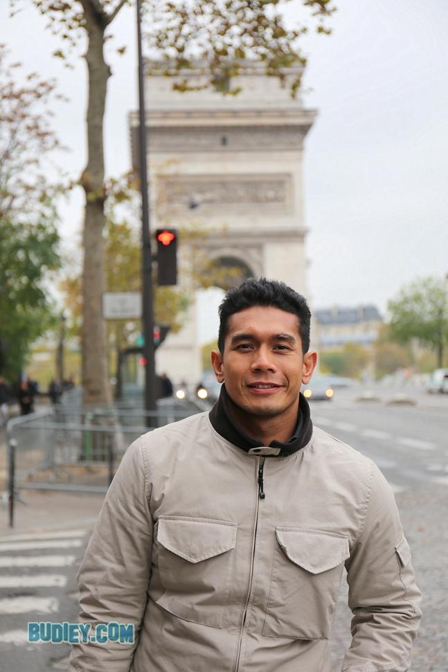 Fahrin Ahmad di Paris Day 1