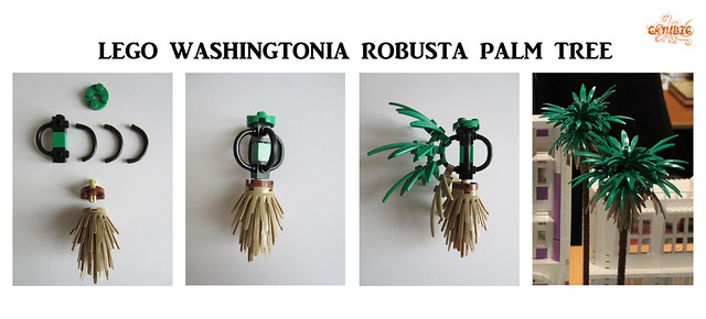 Lego Washingtonia robusta Palm Tree