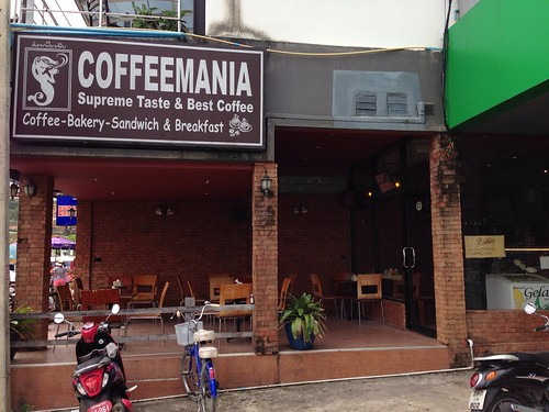 Coffee Mania at Patong, Phuket - Thailand