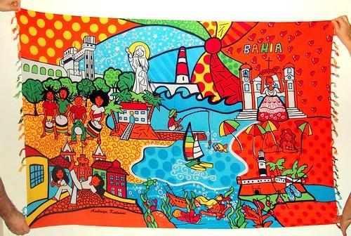 Cangas de Praia - Andreza Katsani - 100% Viscose - Produzidas na Indonésia - Licenciado e distribuido por DAMAI PRAIA - by Andreza Katsani