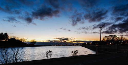 November late afternoon sky from Ontario Place - #329/365 by PJMixer