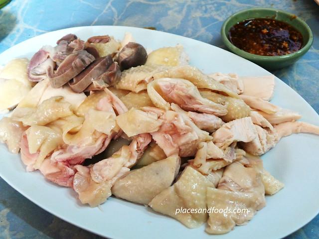 mui kee hainanese chicken set