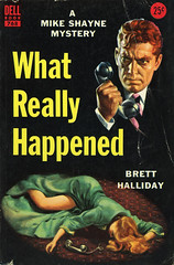 Dell Books 768 - Brett Halliday - What Really Happened