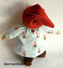 gnome doll back