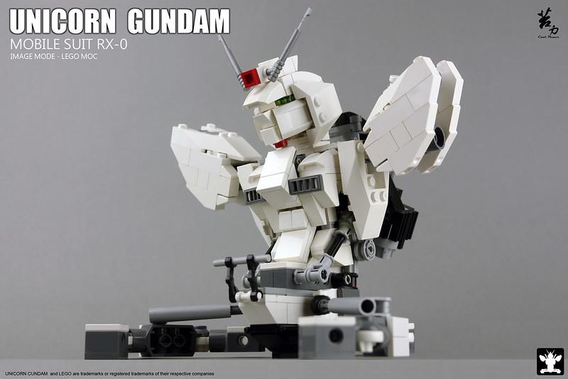 LEGO UNICORN GUNDAM 0009