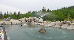 Cheena Hot Springs w pobliżu Fairbanks