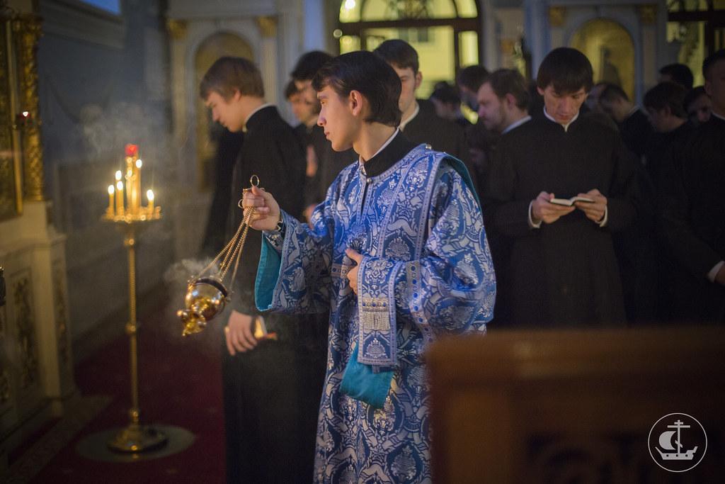 7 декабря 2013, Всенощное бдение накануне недели 24-й по Пятидесятнице