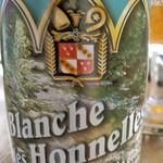 ベルギービール大好き!! ブランシュ・ド・ゾネル Blanche des Honnelles