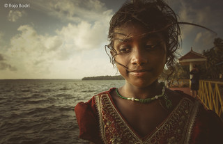 An Indian Gypsy Girl @ Ashtamudi Lake, Kerala, India