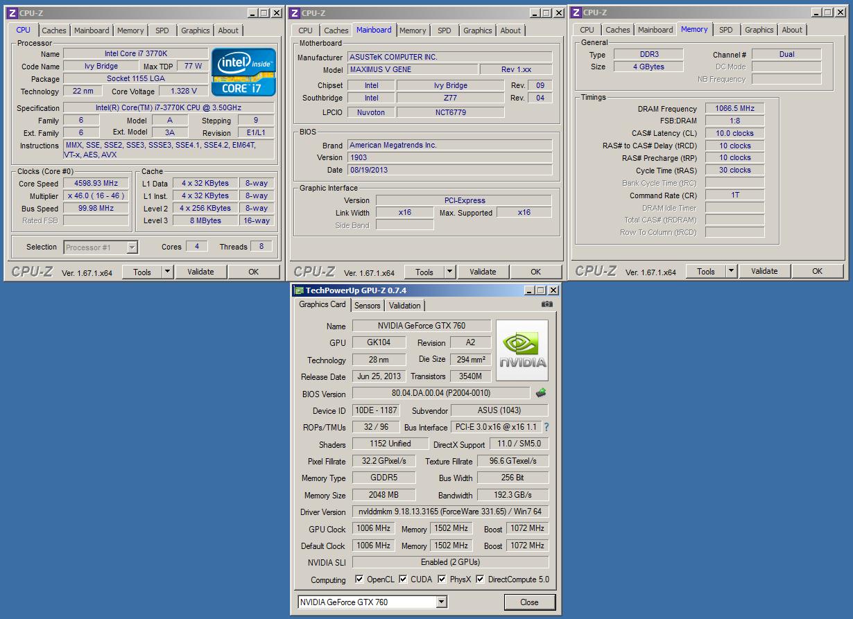 ASUS ROG MARS 760 - 6034