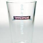 ベルギービール大好き!!【ティママン・ブロンシュの専用グラス】(管理人所有 )