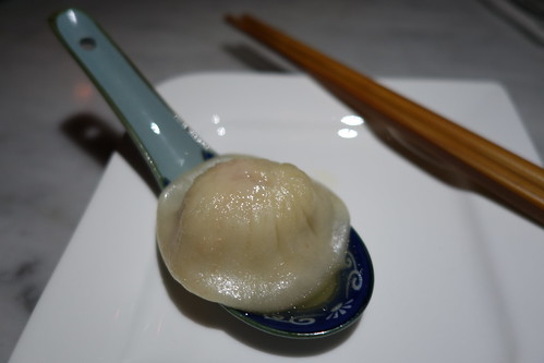 My Whisky-infused Xiao Long Bao at Jiu Zhuang