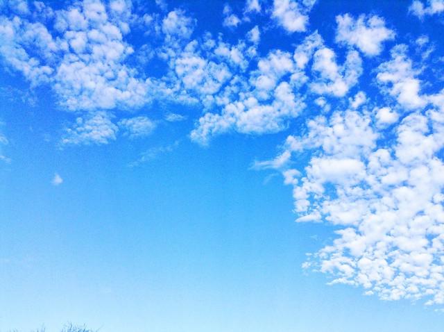 December clouds