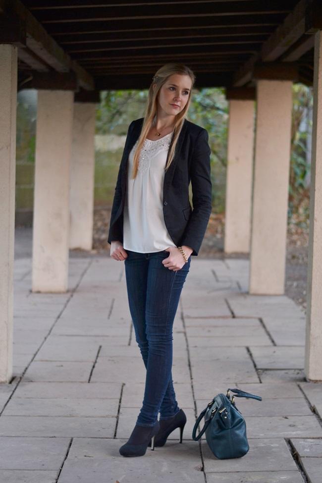 Outfit Silvester 2013 BLazer schick (5)