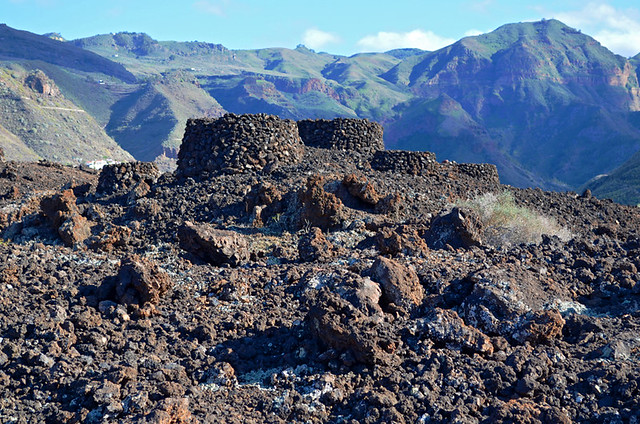 Ancient Canarian Tombs, Agaete Valley, Gran Canaria