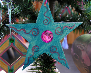 handmade star ornament