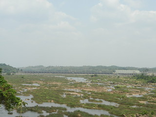 The common large dam across Netravathi (Source:Parineeta Dandekar)