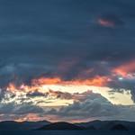 Wisps of sunset